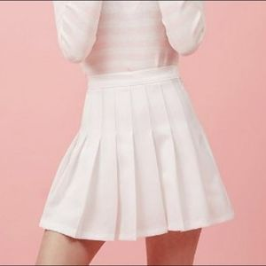 American apparel style tennis skirt